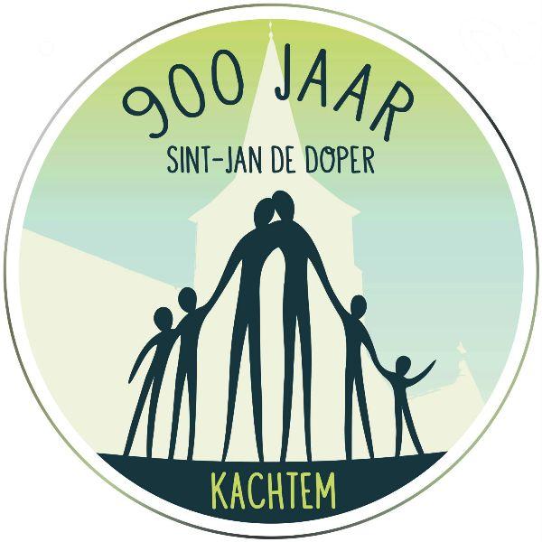 Logo 900 jaar Sint-Jan de Doper Kachtem