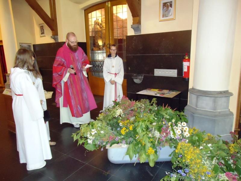 Zegening van de Sint-Janstrossen