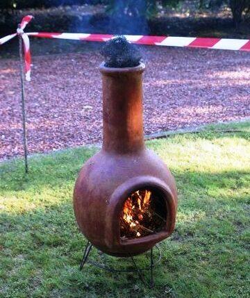 Sint-Janstrossen verbranding Mexicaans kacheltje