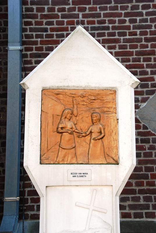 Statie 2: Bezoek van Maria aan zijn moeder Elisabeth