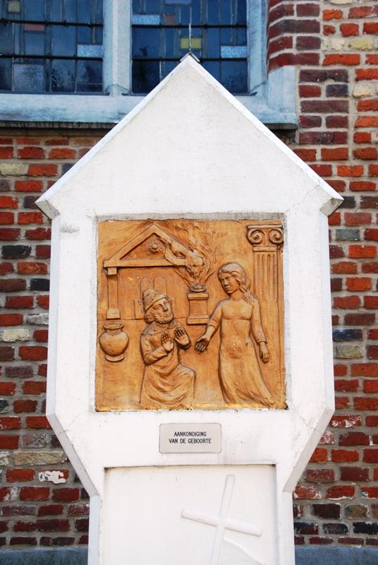 Statie 1: Aankondiging van de geboorte van Sint-Jan