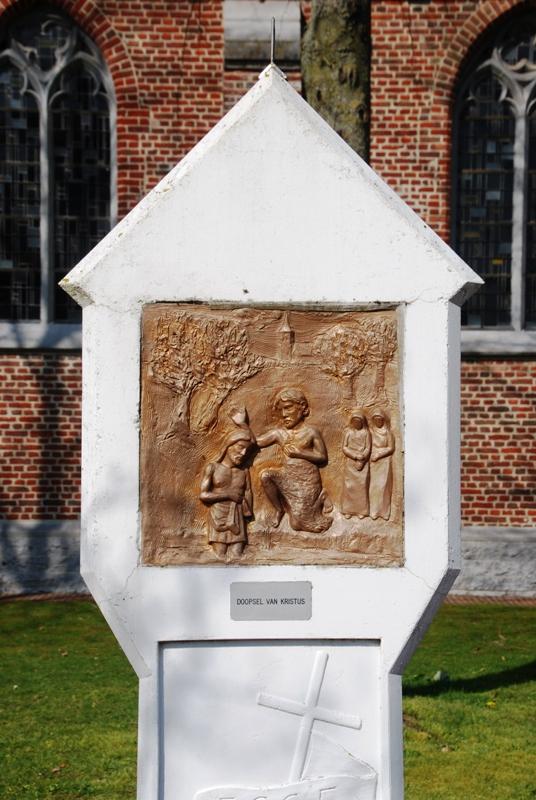 Statie 5: Sint-Jan doopt Jezus Christus